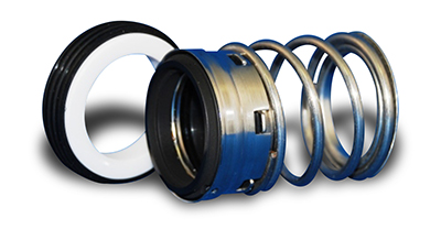 Picture of the Fluidol Style 71 Elastomer Bellows Single Spring Seals.